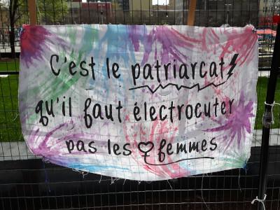 bannière contre les électrochocs